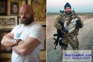 Meet The Body Builder Who Sold His House To Fight ISIS Despite Having No Military Training